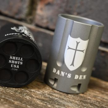 6 Shooter Shot Glass
