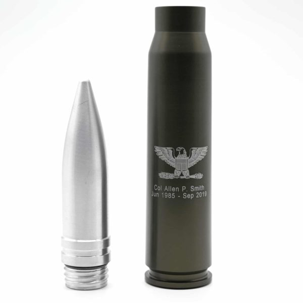 Shell Shots 30mm Flask